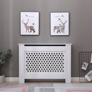 Malton White Painted Radiator Cover