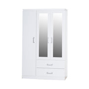 Marina 3 Door Mirrored Wardrobe, Bedroom Furniture, Furniture Maxi, Furniture Maxi