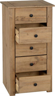 Melissa Tall Narrow Chest Of Drawers - Furniture Maxi