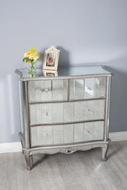 Glamour 4 Drawer Chest - Furniture Maxi