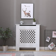 Otley White Painted Radiator Cover