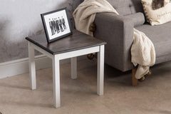 Dark Pine Side Table Living Room Furniture Furniture Maxi