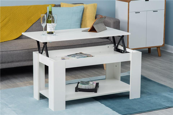 White Lift Up Coffee Table.Hastings Lift Up Top White Coffee Table With Storage Shelf