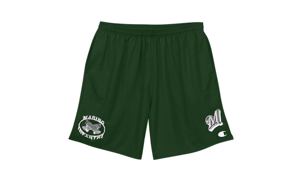 Logo Shorts (Forest Green)