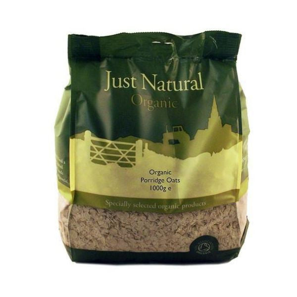Just Natural Organic Porridge Oats 1000g
