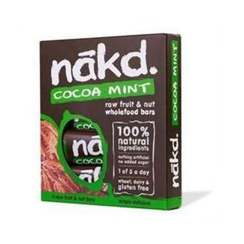 Nakd Cocoa Mint MP 4X35g