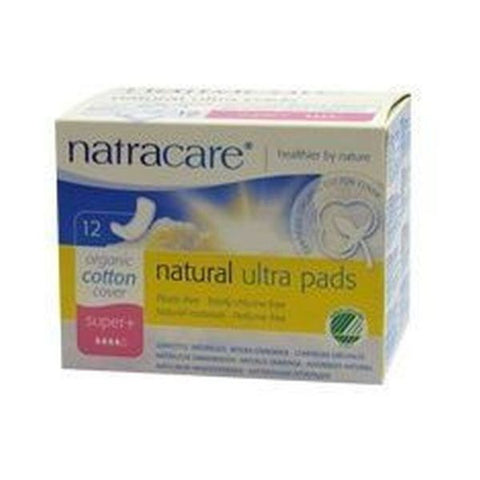 Natracare Ultra Pads Super Plus 12 pieces