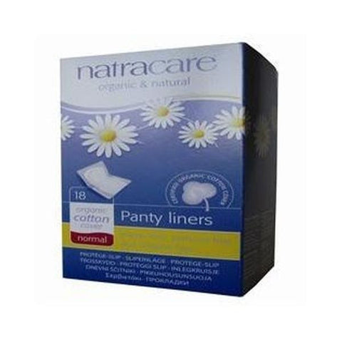 Natracare Panty Liner Normal Wrapped 18 pieces