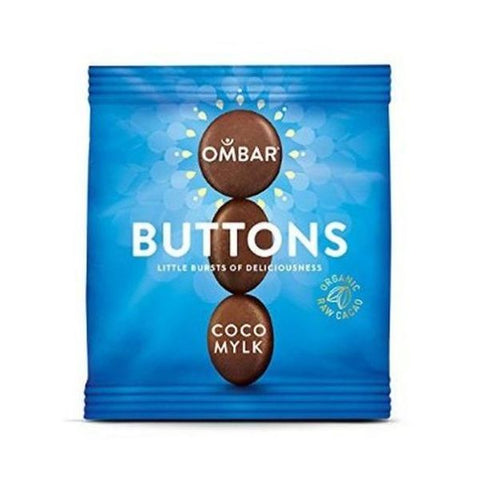 Coco Mylk Dairy Free Chocolate Buttons 25g x 15