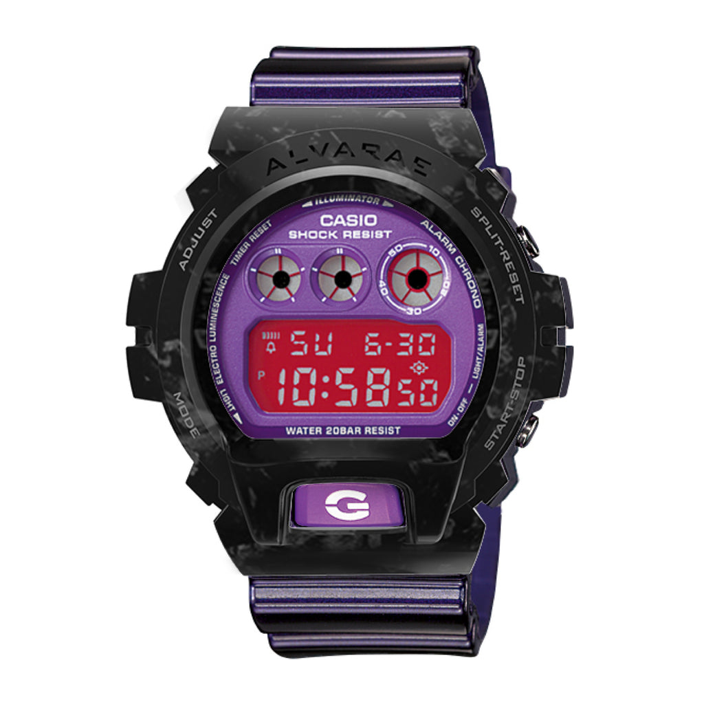 Forged Carbon Armour with Watch (Purple)