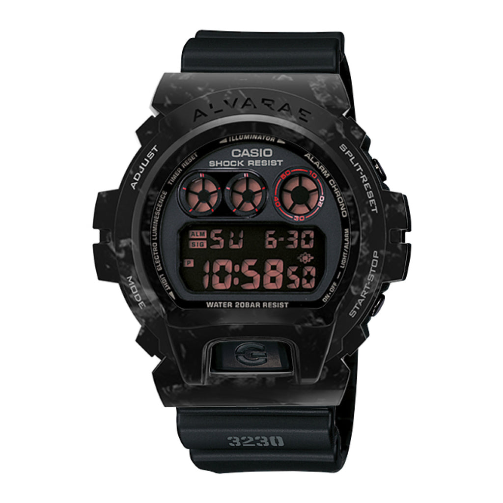 Forged Carbon Armour with Watch (Black)