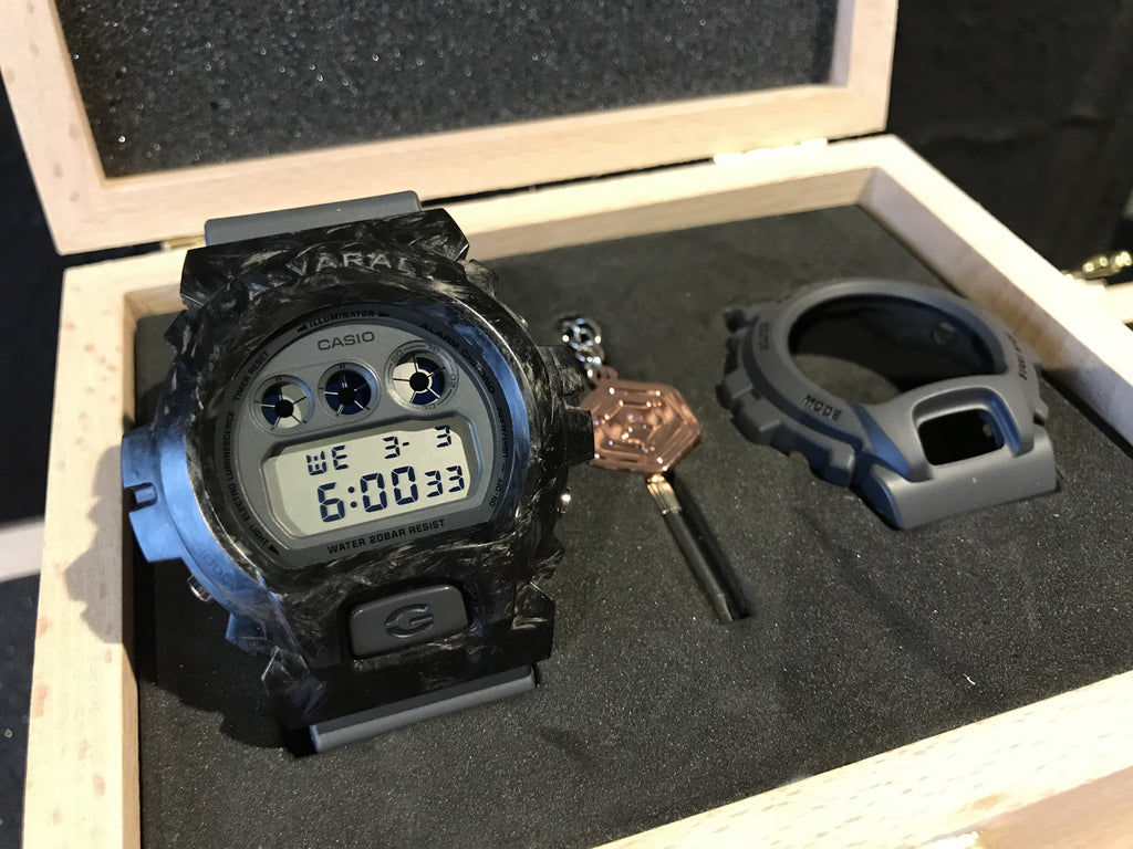 Forged Carbon Armour with Watch (Battleship)