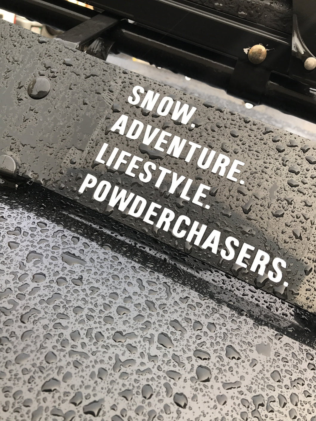 SNOW.ADVENTURE.LIFESTYLE. DECAL
