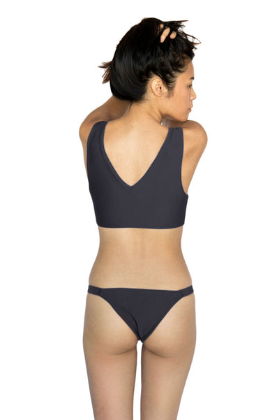 THE KONA TOP - CHARCOAL