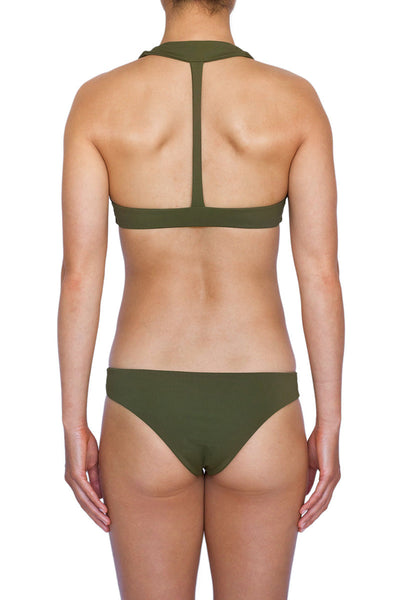 THE HANALEI TOP - OLIVE