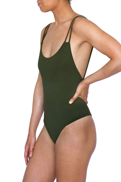 THE SEMINYAK ONE PIECE - OLIVE