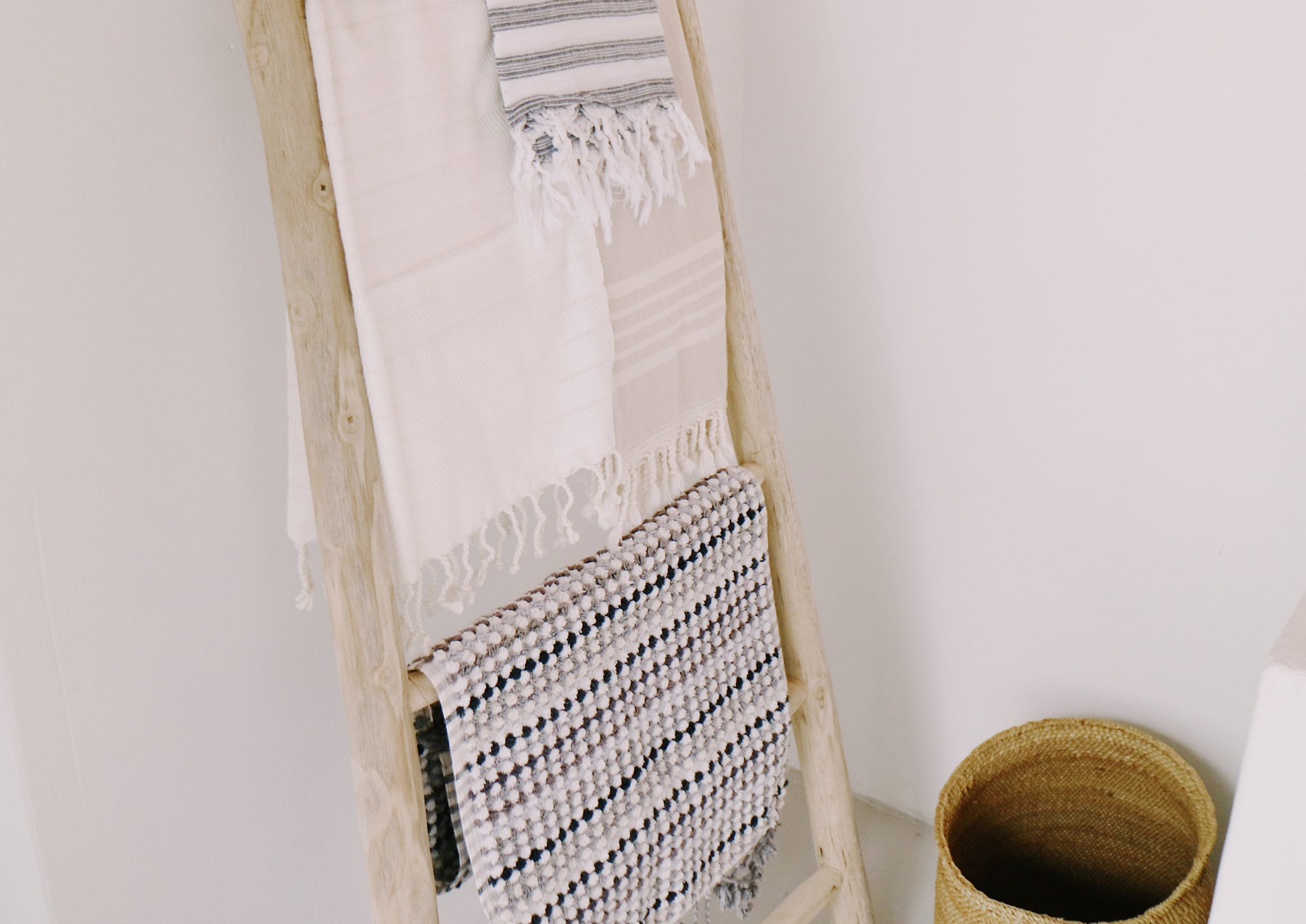 at home with summah , me living , turkish towels , home decor