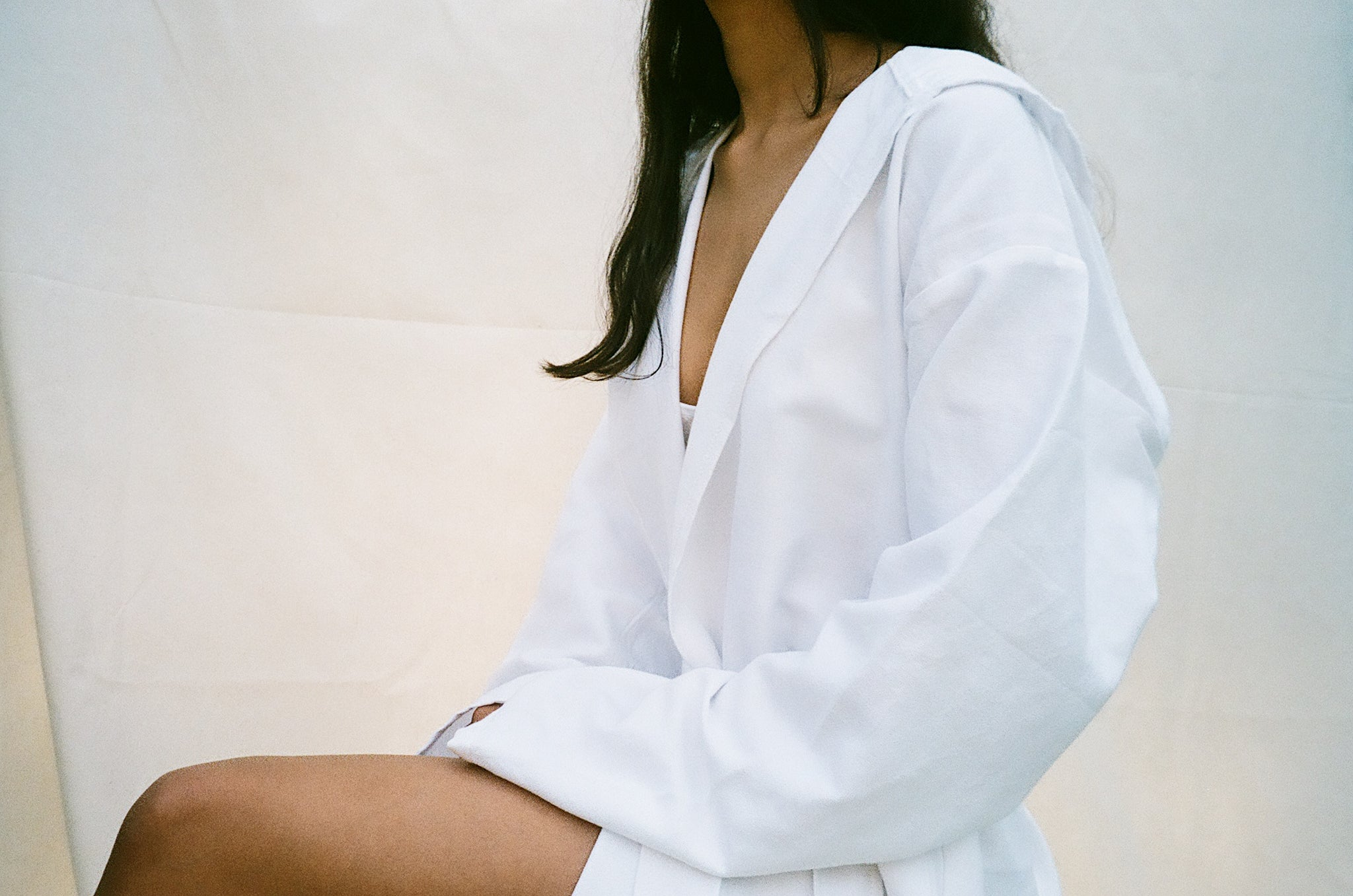 Summah , Muslin white robe , journal, at home with ,turkish towels , home decor