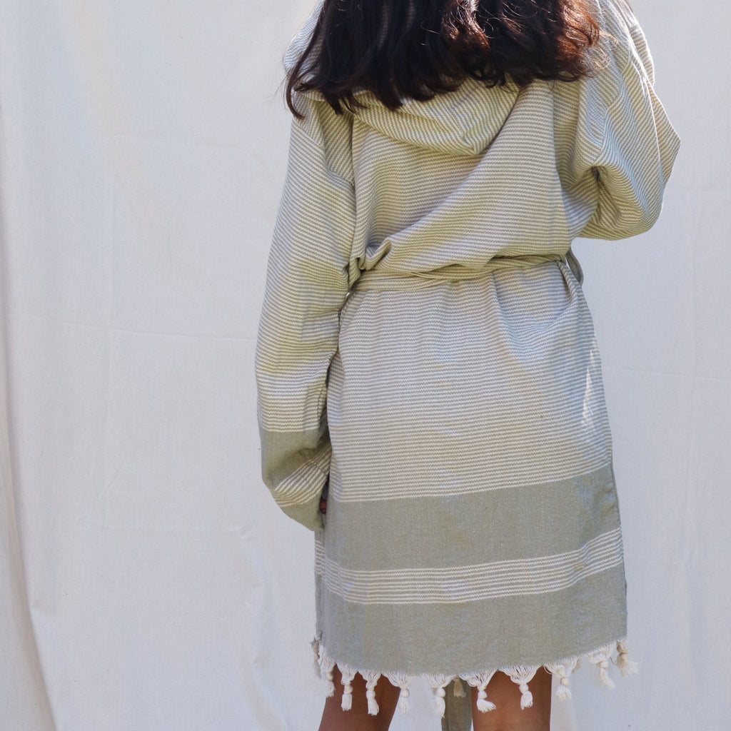 SOFT OLIVE ROBE / GOWN-Summah