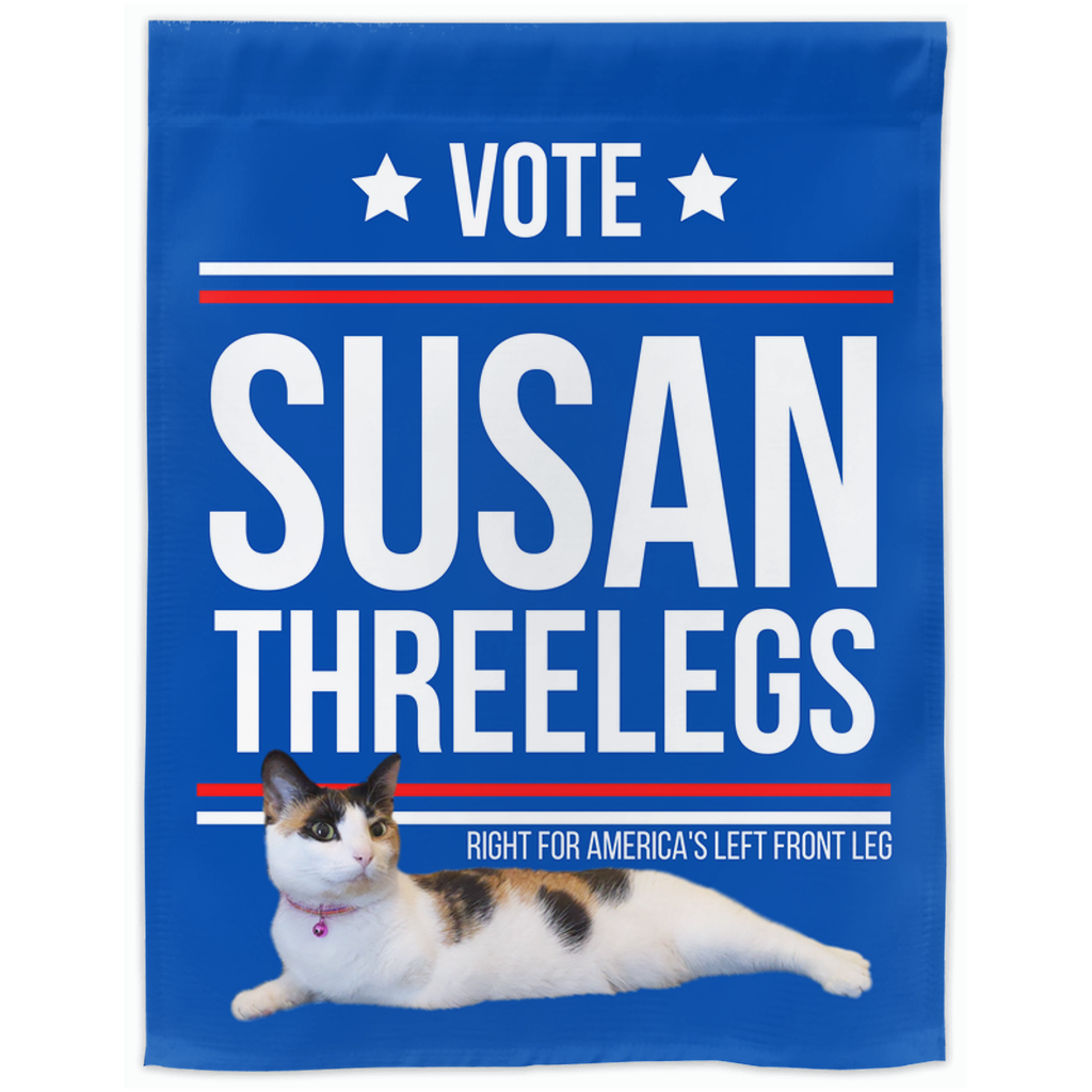 Vote for Susan Threelegs!