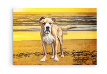 Custom DOG Painting - Canvas Art - Best Gift Ever! PETSY