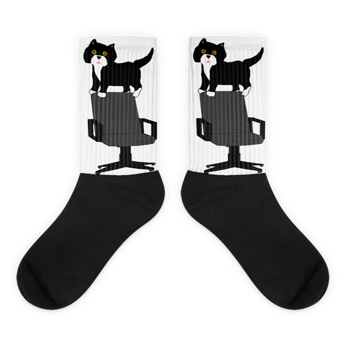 Book Pengs & Desk Chair Socks