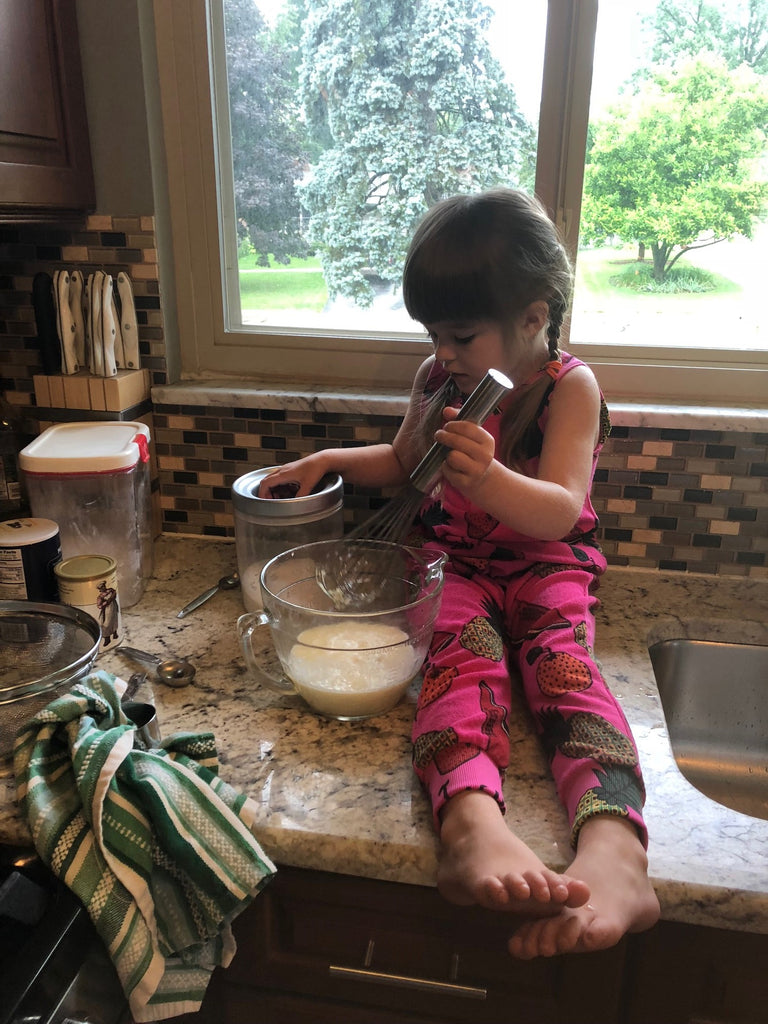 Five Lessons Learned from Cooking with a Toddler