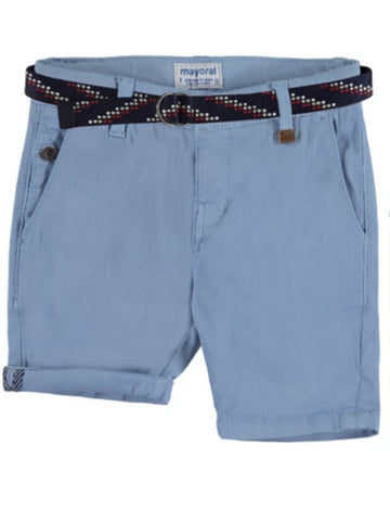 Pique Shorts with Belt