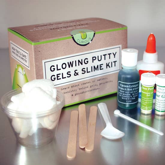 Glowing Putty, Gels and Slime Kit