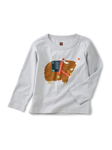 Yak It Up Graphic Baby Tee