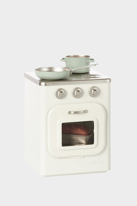 Metal Play Stove w/ Accessories