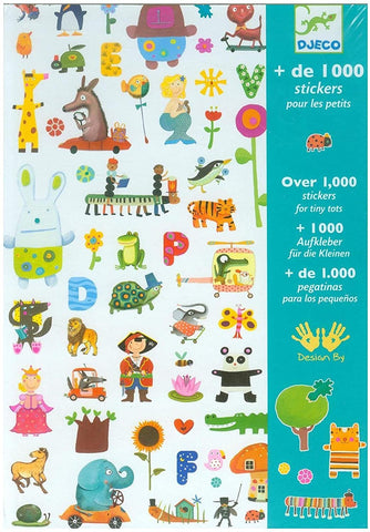 1000 Stickers Little Ones