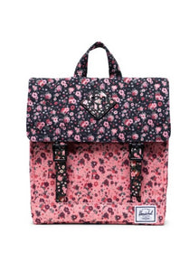 Survey Backpack Ditsy Floral Black/Pink