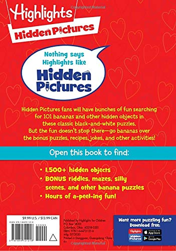 Hidden Pictures 101 Hearts