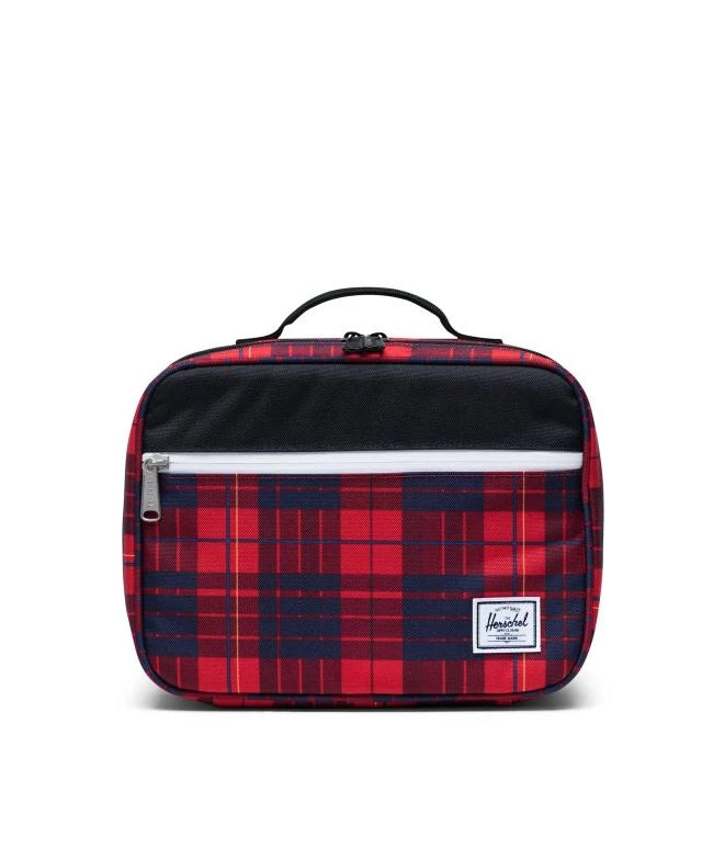 Pop Quiz Lunch Box Winter Plaid