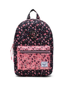 Heritage Backpack - Ditsy Floral Black/Pink