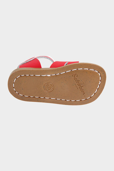 The Original Leather Sandal- Red
