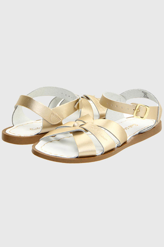 The Original Leather Sandal- Gold