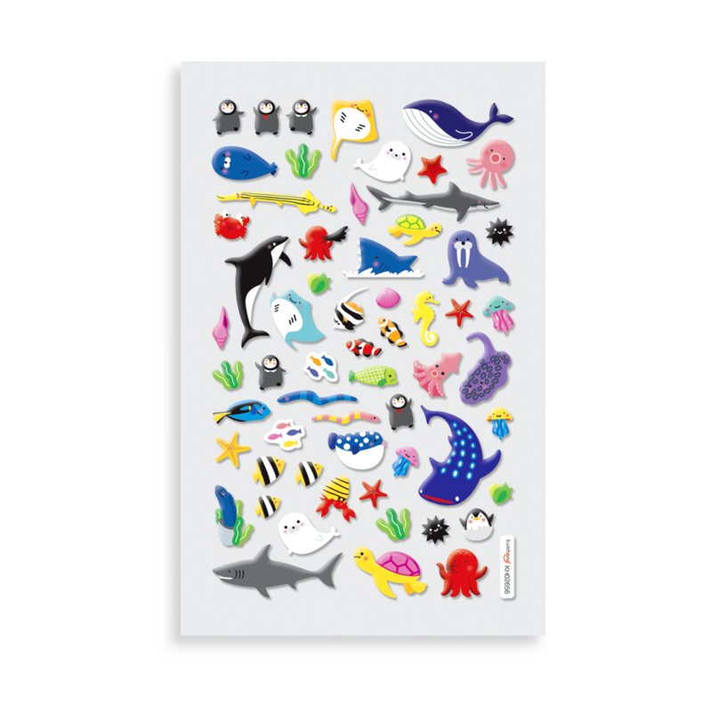 Itsy Bitsy Stickers A little Sea Life Sheet