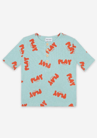 Play Buttoned T-Shirt