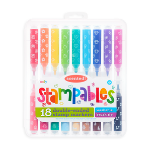 Stampables Scented Double-Ended Stamp Markers Set