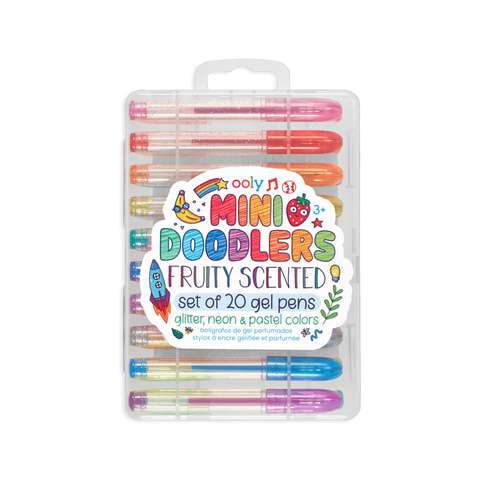Mini Doodlers Fruity Scented Gel Pens Set