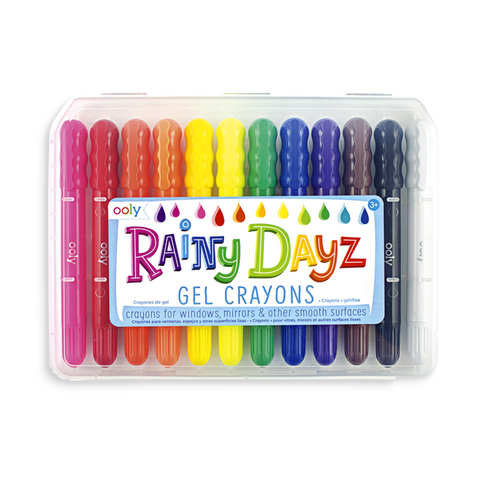 Rainy Dayz Gel Crayons Set