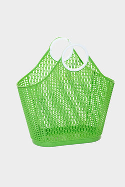 Large Retro Fiesta Shopper Basket
