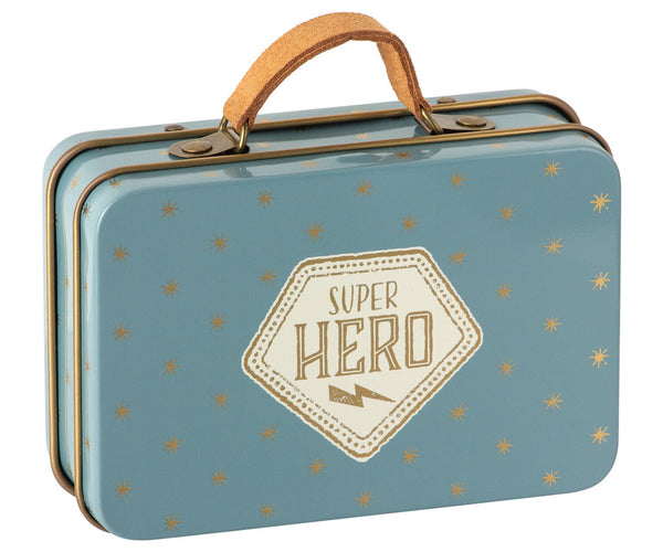 Super Hero Stripe Mouse in Suitcase
