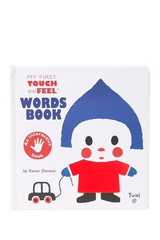 First Touch & Feel Words Book