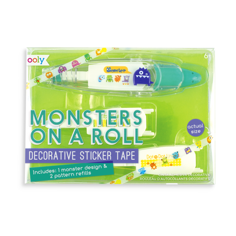 Monsters On a Roll Sticker Tape