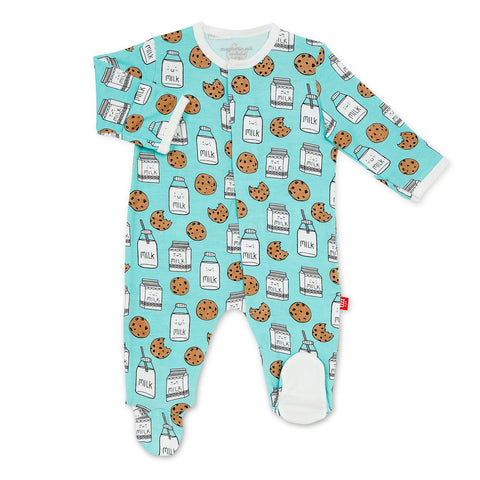 Bedtime Stories Modal Footed Romper
