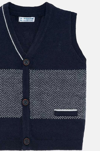 Navy Sweater Vest
