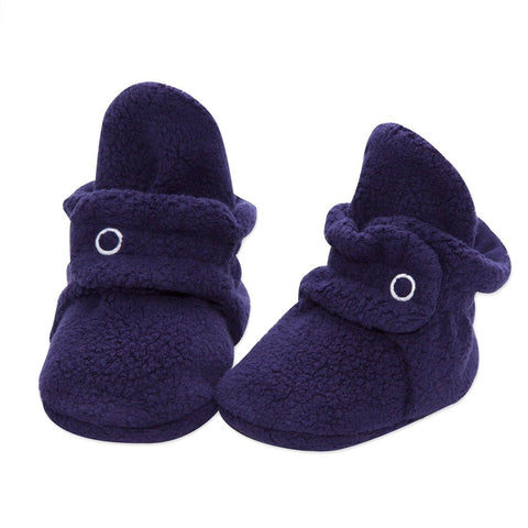 Cozie Fleece Booties True Navy